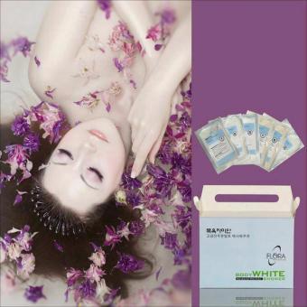 Bộ tắm trắng da Hàn Quốc Flora