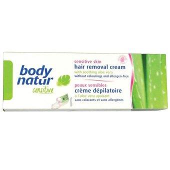 Kem tẩy lông cho da thường và da khô lô hội và tinh dầu Arga Body Natur 100ml