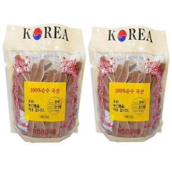 Bộ 2 Nấm Linh Chi Thái Lát Korea 0.5Kg
