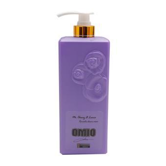 Sữa tắm OMIO chống nắng dưỡng da tinh chất hoa hồng 800ml (Tím)