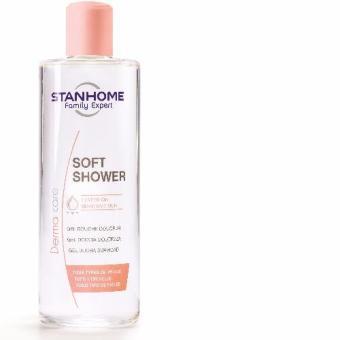 SOFT SHOWER 400ML Sữa tắm không xà phòng cho da thường, da dầu mụn lưng, mụn ngực stanhome