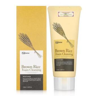 Sữa rửa mặt gạo lứt Hàn Quốc Benew Brown Rice Foam Cleansing 100ml
