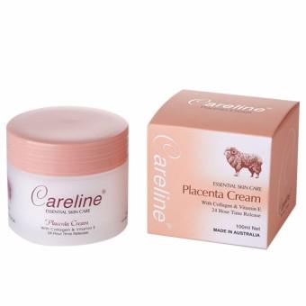 Kem dưỡng da nhau thai cừu Careline Placenta Cream With Collagen và Vitamin E 100ml