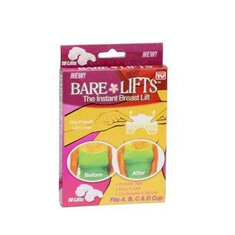 Bộ 10 miếng dán nâng ngực trong suốt Bare Lifts (Trắng)