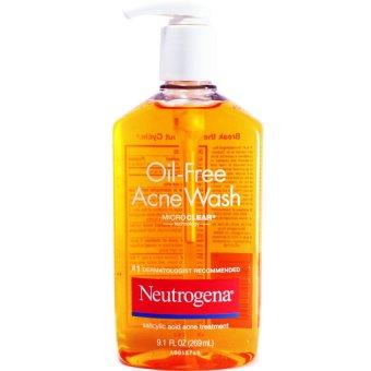 Gel rửa mặt trị mụn Neutrogena Oil Free Acne Wash 269ml