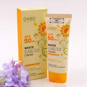 Kem chống nắng cao cấp trắng da DaBo White SunBlock Cream SPF 50 PA+++ 70ml - Hàn Quốc (Hàng chính hãng) - 8111845 , DA676HBAU3F4VNAMZ-454333 , 224_DA676HBAU3F4VNAMZ-454333 , 172000 , Kem-chong-nang-cao-cap-trang-da-DaBo-White-SunBlock-Cream-SPF-50-PA-70ml-Han-Quoc-Hang-chinh-hang-224_DA676HBAU3F4VNAMZ-454333 , lazada.vn , Kem chống nắng cao cấp trắng d