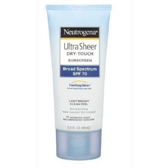 Kem chống nắng toàn thân Neutrogena Ultra Sheer Dry-Touch Sunscreen SPF 70 88ml