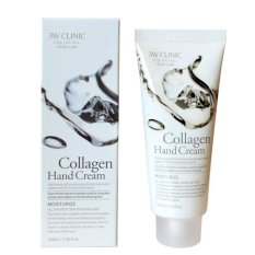 Kem Dưỡng Da Tay Collagen 3W Clinic Collagen Hand Cream 100ml