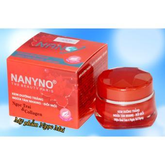 Kem dưỡng trắng - Ngừa tàn nhang - Đồi mồi Ngọc trai và Collagen NANYNO (15g)