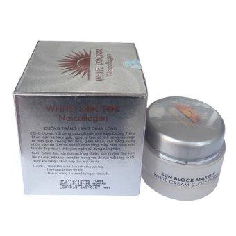 Kem dưỡng trắng - Se khít lỗ chân lông White Doctor Naicollagen 22g - 3