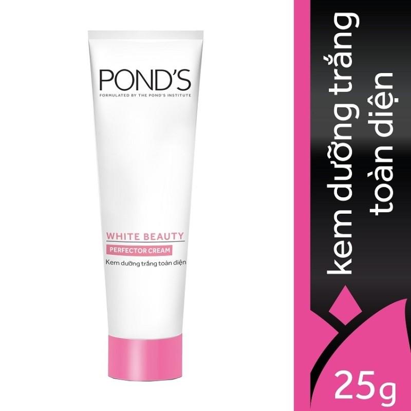 Kem dưỡng trắng toàn diện trắng hồng rạng rỡ Ponds White Beauty 25g