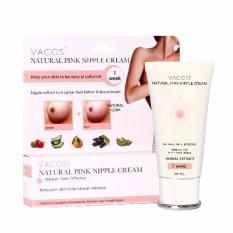 Nơi Bán Kem làm hồng nhũ hoa Vacosi Natural Pink Nipple Cream 30ml