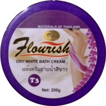 Kem Tắm Trắng - Giữ Ẩm Da Flourish - 200g - T3F139