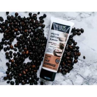 Kem tẩy tế bào chết da mặt Organic Shop Coffee & Powder 75ml