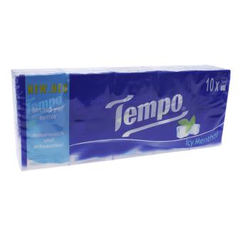 Lốc 10 gói khăn giấy Tempo Icy Menthol