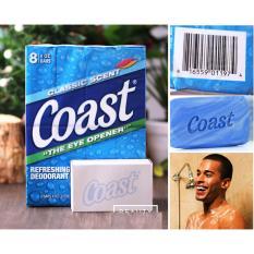 Lốc 4 cục xà phòng Coast 907g/cục - Hàng USA