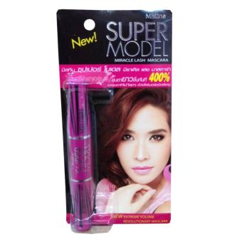 Maccara 2 Đầu Mistine Super Model Miracle Lash Mascara 5,5g