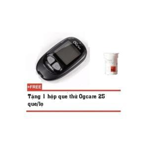 Máy đo đường huyết OGcare - Ý - chính xác- tốt- rẻ- chất lượng- 10 que thử