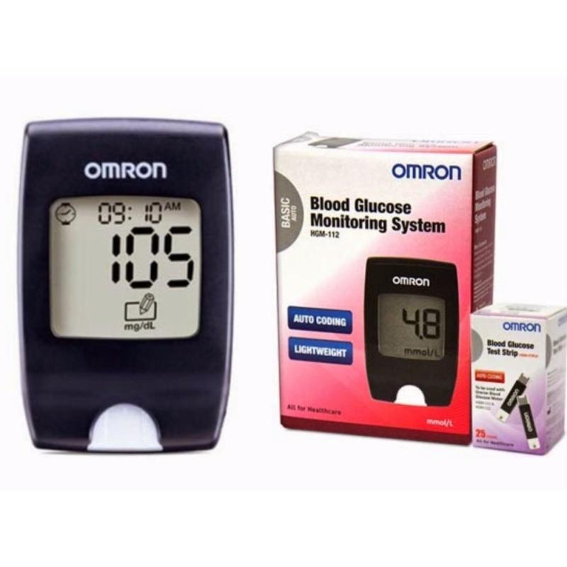 Nơi bán Máy đo đường huyết Omron HGM-112 mg/dL