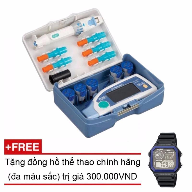 Nơi bán Máy đo đường huyết Terumo Medisafe Mini + Tặng đồng hồ thể thao