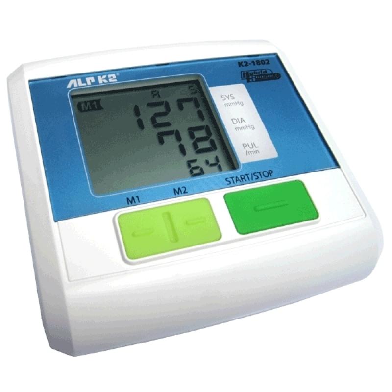Nơi bán Máy đo huyết áp bắp tay ALPK2 K2 1802 (Trắng phối xanh)