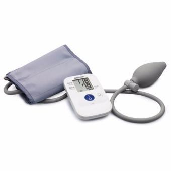 Máy đo huyết áp bắp tay bán tự động OMRON HEM-4030( Màutrắng,xám)