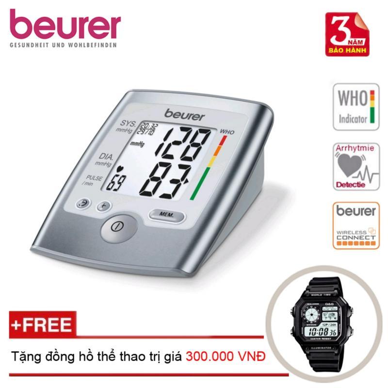 Nơi bán Máy đo huyết áp cổ tay BEURER BC40 + Tặng đồng hồ thể thao