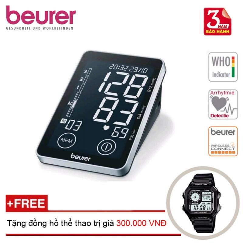 Nơi bán Máy Đo Huyết Áp Bắp Tay Cảm Ứng Beurer Bm58 + Tặng Đồng Hồ Thể Thao