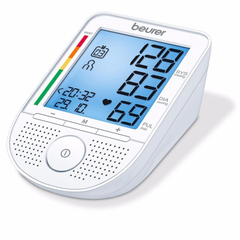 Nơi bán Máy đo huyết áp bắp tay, kèm Adapter, có loa Beurer BM49