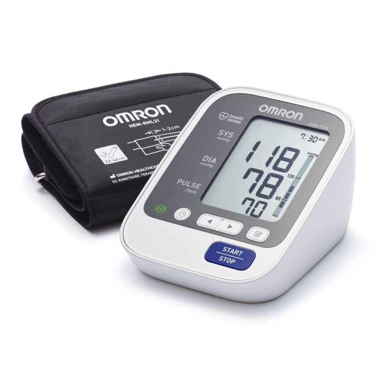 Nơi bán Máy đo huyết áp bắp tay Nhật bản thương hiệu Omron Hem-7130