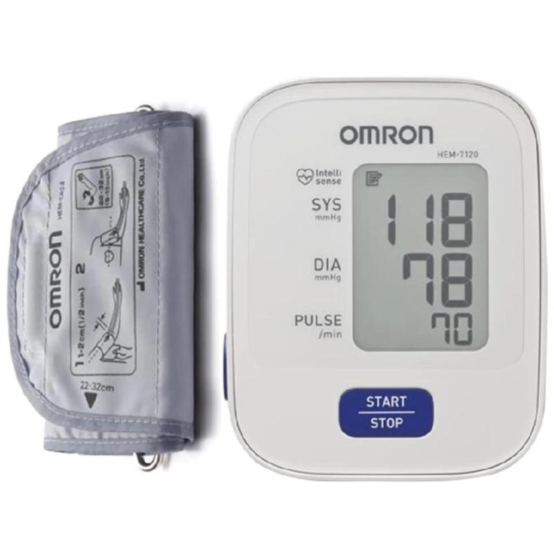 Nơi bán Máy đo huyết áp bắp tay Omron HEM-7120