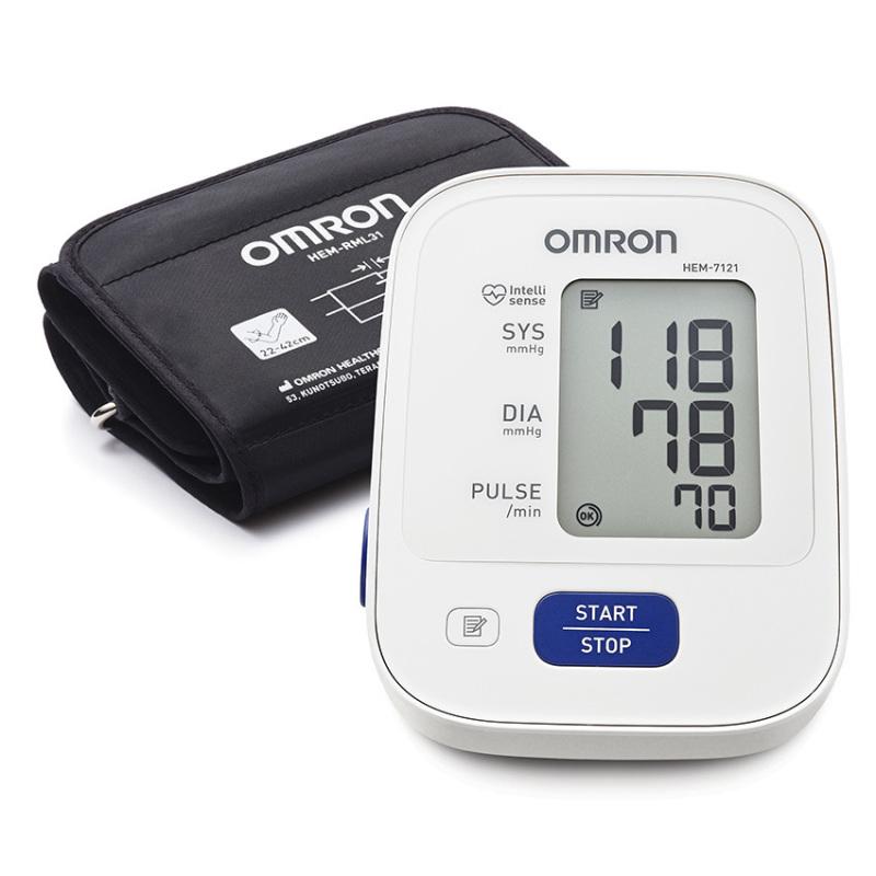 Nơi bán Máy đo huyết áp bắp tay Omron HEM 7121 (Trắng)