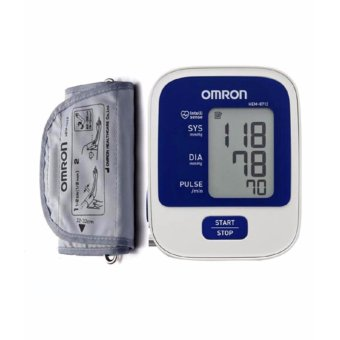 Máy đo huyết áp bắp tay OMRON HEM-8712( Màu trắng phối xanh,xám)