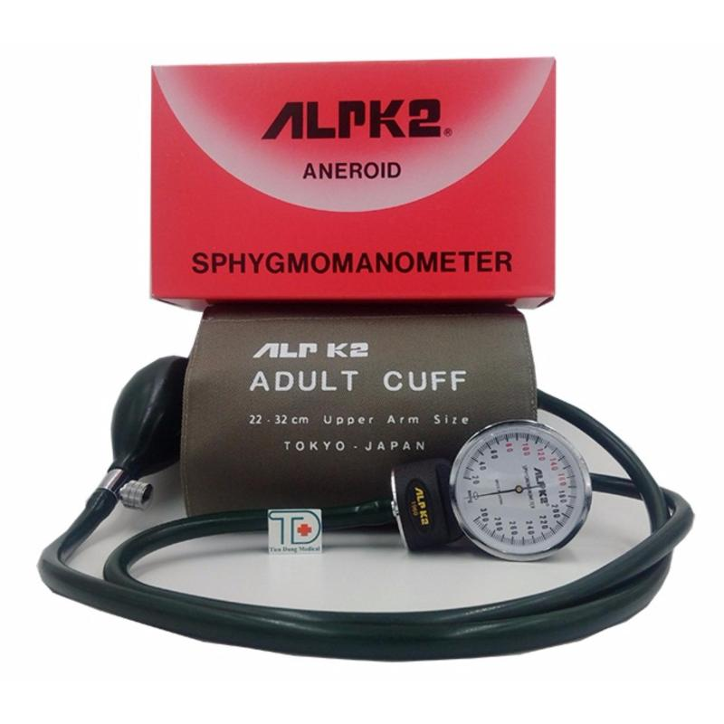 Nơi bán Máy đo huyết áp cơ ALPK2  Nhập khẩu Chính hãng Nhật Bản ( bao gồm  cả tai nghe)