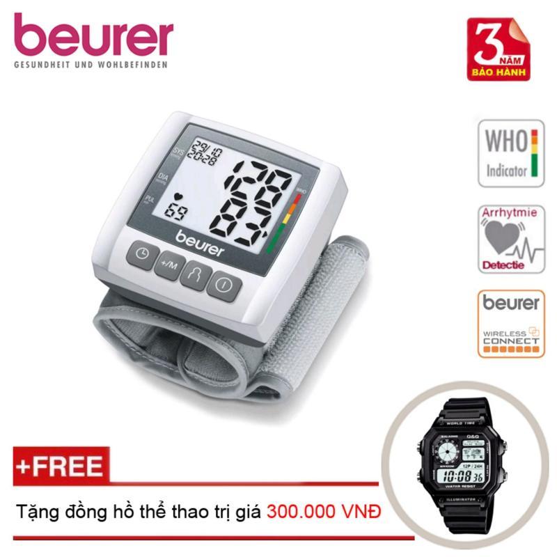 Nơi bán Máy đo huyết áp điện tử cổ tay Beurer BC30 + Tặng đồng hồ thể thao
