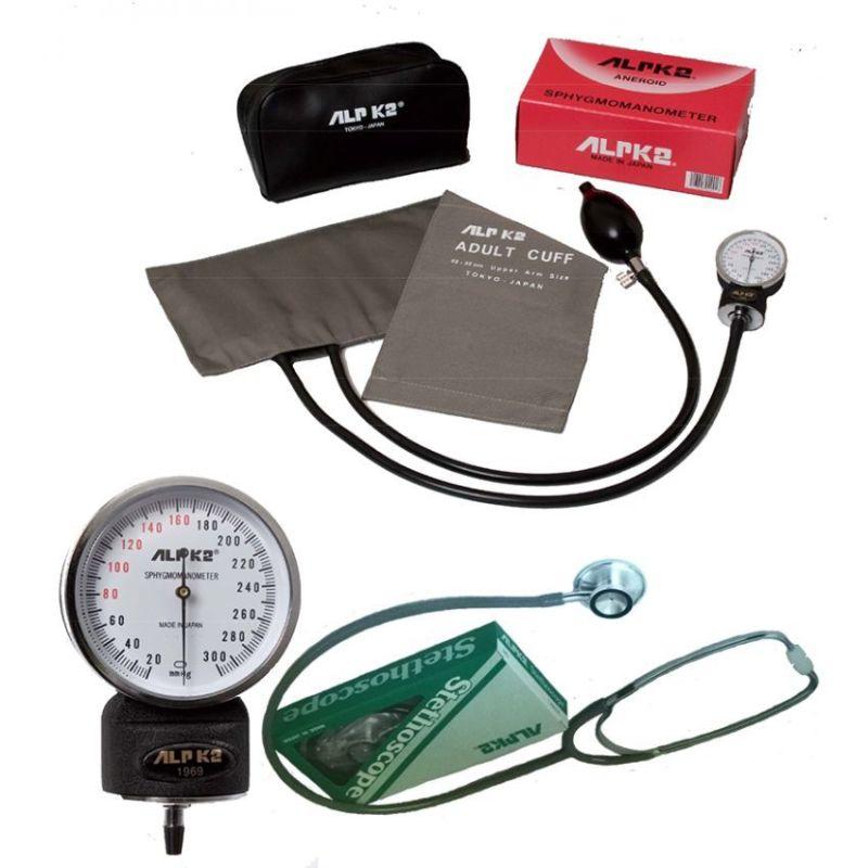 Nơi bán Máy đo huyết áp đồng hồ ALPK2 500V FT 801 (Xám)