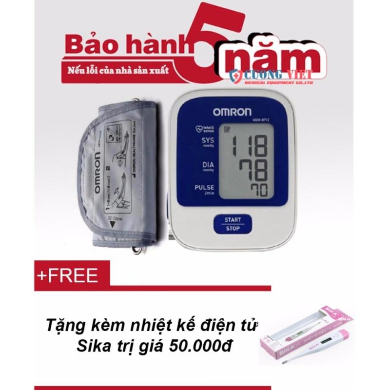 Nơi bán Máy đo huyết áp omron của nhật Omron HEM-8712