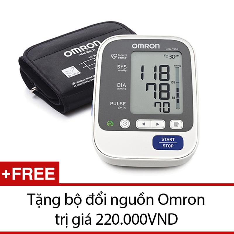 Nơi bán Máy đo huyết áp Omron Hem 7130 + Tặng dụng cụ hút mũi Tanako silicon