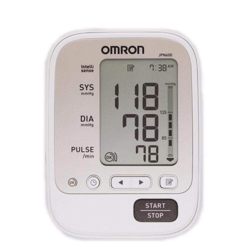 Nơi bán Máy đo huyết áp Omron JPN600 + Tặng kèm bộ AC-Adapter đổi nguồn