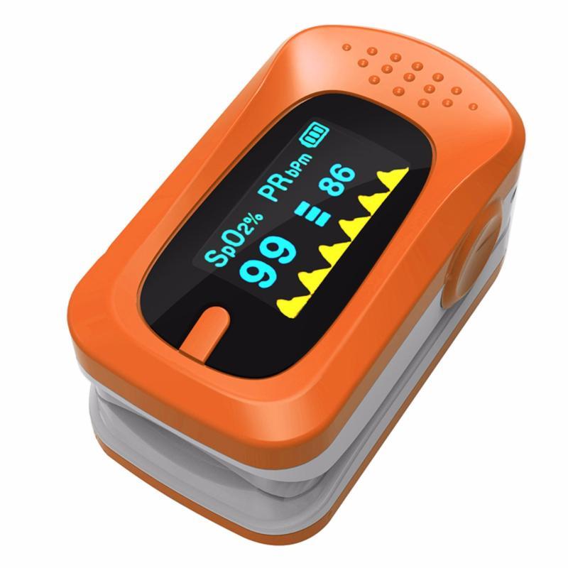 Nơi bán Máy đo nồng độ Oxy Trong máu SPO2 OX20 (Cam)