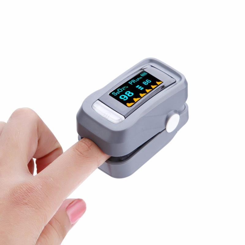 Nơi bán Máy đo nồng độ Oxy Trong máu SPO2 OX60 (Xám)