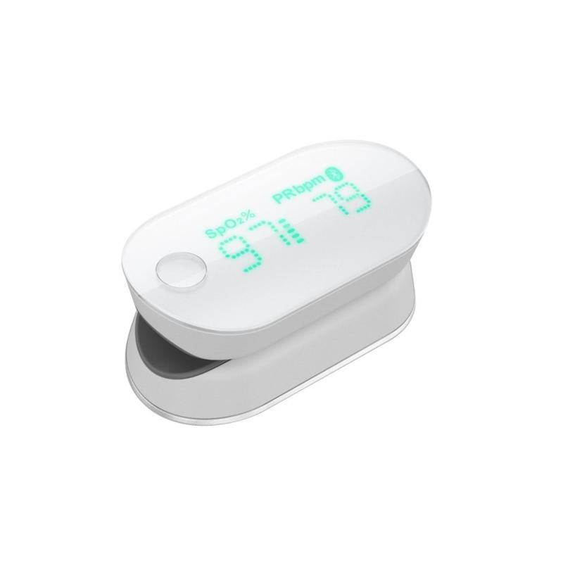 Nơi bán Máy đo nồng độ oxy trong máu (spo2) và nhịp tim thông minh iHealth PO3 (Trắng) - Hãng phân phối chính thức