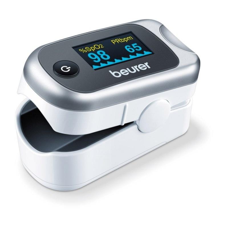 Máy đo nồng độ oxy trong máu(SPO2) và nhịp tim BEURER PO40 bán chạy
