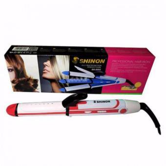 Máy tạo kiểu tóc 3 chức năng uốn - duỗi - bấm Shinon loại nhỏ