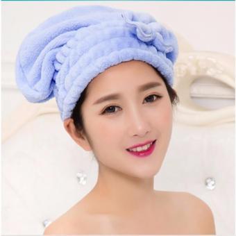 Mũ tóc bảo vệ tóc khi tắm (Xanh)