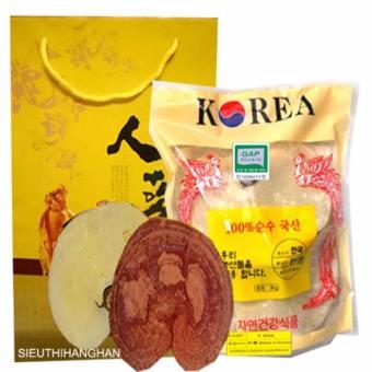 Nấm Linh Chi Vàng Nhập Khẩu Hàn Quốc 1 kg (3 lá) - HÀNG MỚI VỀ - ĐANG TRỢ GIÁ