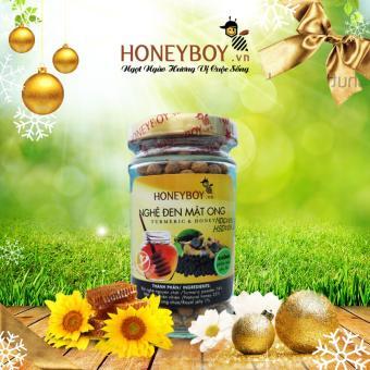 Nghệ đen mật ong Honeyboy 80g