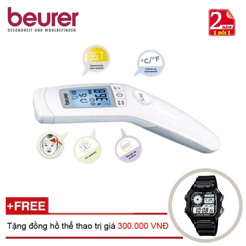 Nhiệt kế điện tử Beurer FT90 + Tặng đồng hồ thể thao bán chạy