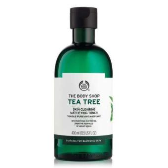 Nước cân bằng da THE BODY SHOP Tea Tree Skin Clearing Toner 400ml