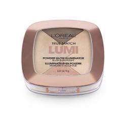 Phấn bắt sáng và má hồng LOreal Paris True Match Lumi Powder Glow Illiminator - W102: Gold - Da vừa tốt nhất